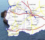AAPPMA du Finistère (29) :Aappma Saint-Renan  :Les rivières et les étangs Zoneentiere-851ec9