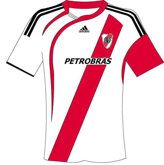 03e60b3636599 Dibujos de algunas Camisetas de Futbol - Taringa!