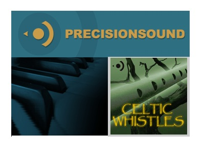 Precisionsound Celtic Whistles MULTiFORMAT, precisionsound audio samples samples, Precisionsound, MULTiFORMAT
