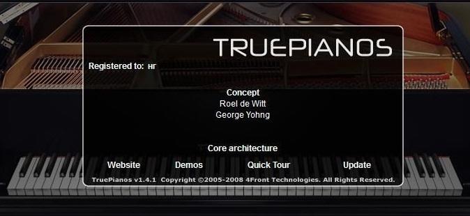 4Front Truepianos VSTi AU RTAS 1.4.0 MAC OSX UB