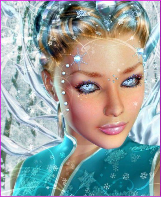 beau-visage-belle-image-bleue-flora