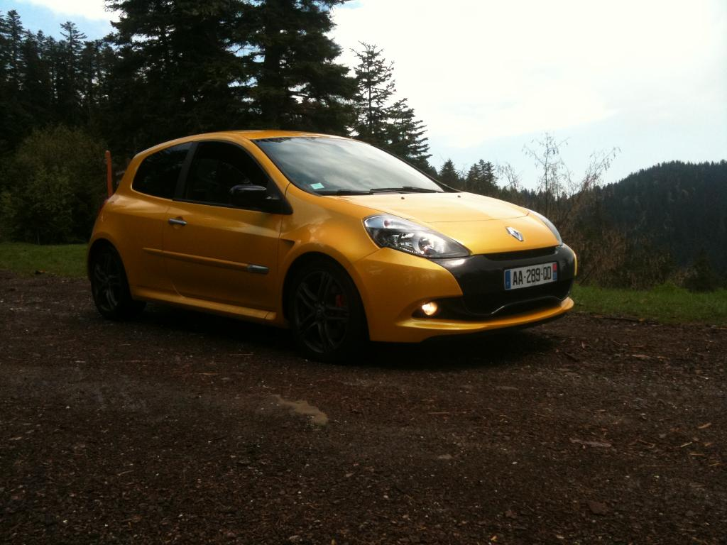 clio rs 3 ph 2 jaune