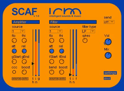 Intelligent Sounds Music SCAF v1.01 UNION, vst plugins intelligent sounds and music vst, v1.01, UNION, Intelligent Sounds Music