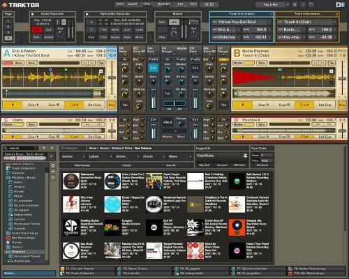Native Instruments Traktor Pro v1.1.1, audio software dj software audio, v1.1.1, Traktor Pro, Native Instruments