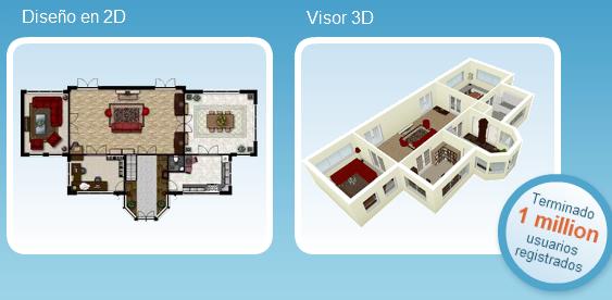 Tutoriales pruebas y mas crea planos 3d de tu casa online for Disenar habitaciones online 3d