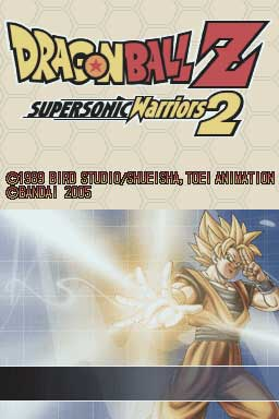 Presentación  de: NDS Roms - Dragon Ball Z: Supersonic Warriors 2 (en español)