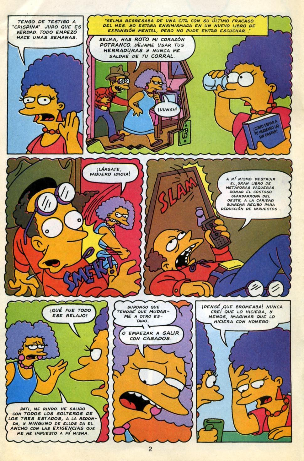 De Los Simpsons Con Buenas Historietas Por Eso Subi Las Paginas