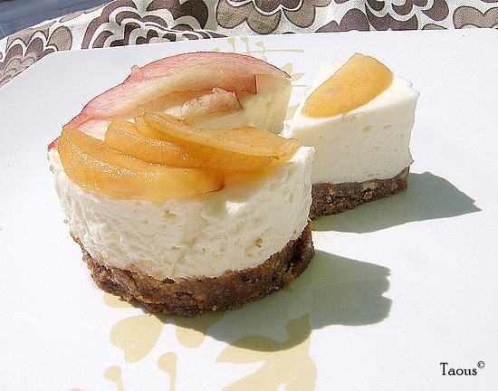 cheesecake au citron sans cuisson les saveurs partagees de taous. Black Bedroom Furniture Sets. Home Design Ideas